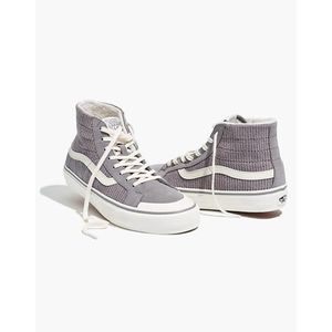 NWT Vans Unisex High-Top Grey High-Top Sneakers